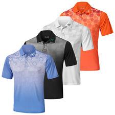 Mizuno Mens 2020 Gradient Hexagon Short Sleeve Lightweight Golf Polo Shirt