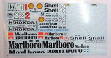 1/18 McLaren MP4/6 Decal for Minichamps /TSM Senna Berger
