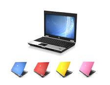 """WINDOWS 7 HP Elitebook 14"""" Laptop - Core 2 Duo 2GB 4GB RAM 80GB HDD WIFI DVD"""