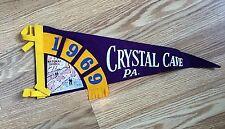 Vintage 1969 Cyrstal Cave , Pa.  Pennant