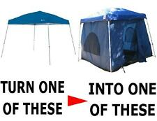 Turn a Pop –Up Canopy Into An Extraordinary Tent (STANDING ROOM 64 TENT)