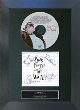 PINK FLOYD The Wall Signed CD Mounted Reproduction Autograph Photo Prints A4 13