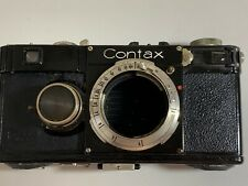 Zeiss Ikon Black Contax I camera rangefinder