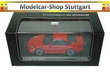 Porsche 911 turbo Indischrot Museum Edition Minichamps 1:43 MAP02036514 neu
