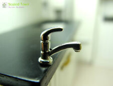1pcs Dollhouse Miniature Water Tap Faucet Home Kitchen Bathroom Accessory 1:12