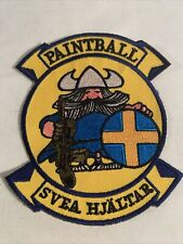 Svea Hjaltar Paintball Military Style Patch
