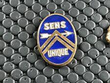 pins pin BADGE CAR CITROEN SENS UNIQUE   ARTHUS BERTRAND