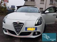 Profilo Bordino Rosso Anteriore Front 3M Alfa Romeo Giulietta 2010 - 2016