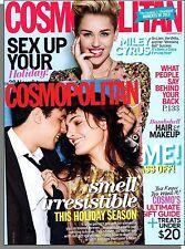 Cosmopolitan - 2013, December - Miley Cyrus, Sex Up Your Holiday, Sugar Babies