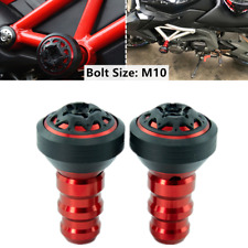 Refit Motorcycle 10MM Screw Protection Rod Frame Engine Anti-falling Slider Caps