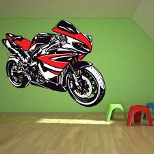 Decoración de paredes Blanco color principal rojo para el hogar