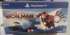 New Sony PlayStation VR Marvel's Iron Man Edition VR Bundle+Batman & Far Point