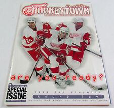 DETROIT RED WINGS Inside Hockeytown 1999 NHL Playoffs Chelios Fedorov Clark