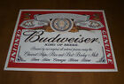 BUDWEISER BEER KING OF BEERS TIN SIGN