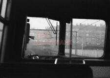 PHOTO  VIEW FROM REAR CAB OF EMU DEPARTING FROM SPRINGBURN STATION WITH EMU STAB