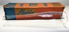 ANTIQUE BOXED ALADDIN LOX-ON LAMP CHIMNEY / SHADE | PYREX REPLACEMENT, ADD ON