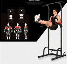 Home Gym Fitness Power Tower Dip AB Pull/Chin Up Bar KNEE/LEG Workout Station
