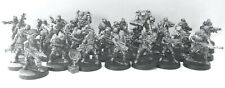 Troopers x36 28mm Unpainted Metal Wargames
