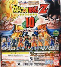 DRAGONBALL Z HG 10 SAIYAN SP 10pcs Full Set Goku Gohan Vegeta Trunks NEW BANDAI