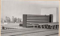 Photo Ca 10x17 cm Modellaufnahme Bhf Braunschweig 1960 (AGF726)
