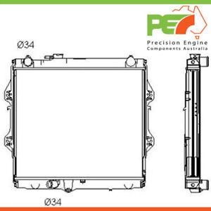 Brand New * PROTEX * Radiator For Toyota Hilux LN147 3.0ltr Diesel