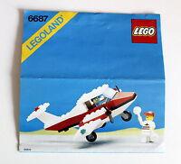 Lego Legoland 6687 aus dem Jahr 1987 Bauanleitung gebraucht ohne Steine 49
