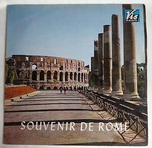 """CLAUDIO VILLA Souvenir De Rome Melodie Popolari Italiane LP 12"""" VINYL 1964 Vis"""