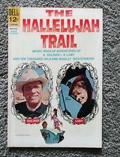 Hallelujah Trail Movie Classics 1966 Dell Comics Burt Lancaster