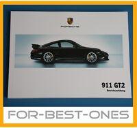 NEU Porsche 911 997 GT2 Betriebsanleitung Bedienungsanleitung Wartung Handbuch