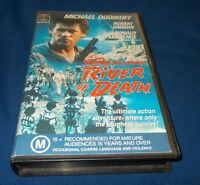 RIVER OF DEATH VHS PAL ALISTAIR MACLEAN MICHAEL DUDIKOFF VHS RCA