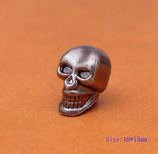 30x Skull Decorative Rapid Rivet Studs for Bracelet Bag Belt Leathercraft Concho