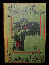 ** through the looking glass, Lewis Carroll.macmillan, hb 1948, illustrated.