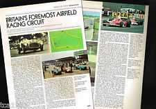 vintage SILVERSTONE Race Circuit/Track Article / Photos / Pictures