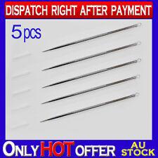 5x StainlessSteel Acne Needle Blackhead Remove Pin Pimple Blemish Extractor Tool