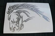 adesivo cavallo auto moto scooter wall sticker decal vynil vinile horse fattoria