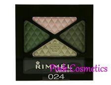 RIMMEL Glam Eyes Quad Smokey EYESHADOW Eye Shadow in 024 Green Sapphire