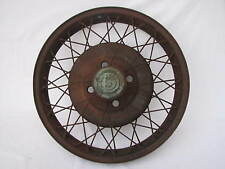 "1929 Durant 19"" Wire Wheel & Cap No Lock Ring 1926 1927 1928 1930 1931 1931 Star"