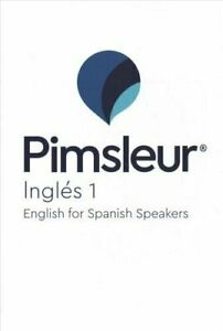Pimsleur English for Spanish Speakers Level 1 CD Learn to Speak #6517