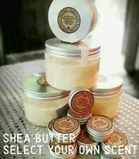 ORGANIC and PURE SHEA BUTTER & COCONUT OIL with SCENTED AROMATHERAPY OILS