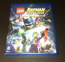 LEGO® Superheroes™ Batman The Movie - DVD (NOT Blu Ray) - No Minifig