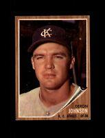 1962 Topps Baseball #82 Deron Johnson (A's) EXMT #AAB123