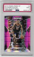 2019 Prizm Draft Picks De'Andre Hunter Pink Pulsar Rookie PSA 9 No. 4