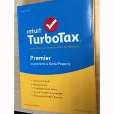 TurboTax Premier 2015 Federal + State Taxes + Fed Efile