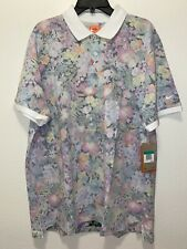 New Men's The Nike Polo Golf Floral Pattern AV5240-900 Size XL Limited