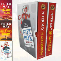 Peter May Collection China Thrillers Series 2 Books Gift Wrapped With Journal PB