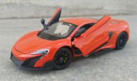 WELLY 1:24 Mclaren 675LT Alloy Sports Car Model Boys Toys Static Display
