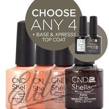 CND SHELLAC STARTER KIT - Any 4 Colours + Base + XPRESS5 + ScrubFresh + SolarOil