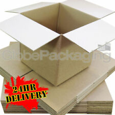 """100 x HIGH GRADE SMALL MAILING PACKING CARDBOARD BOXES 4x4x4"""" CUBE *OFFER PRICE*"""