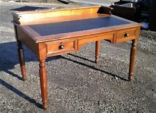 Antique Walnut Slant Top Masonic Desk w/ Gallery 1890s Era