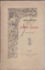 Antonio Fogazzaro, Sonatine bizzarre, 1899, racconti,classici, Giannotta editore
